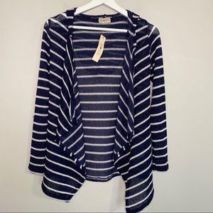 3/$25  Free Kisses Small Open Cardigan